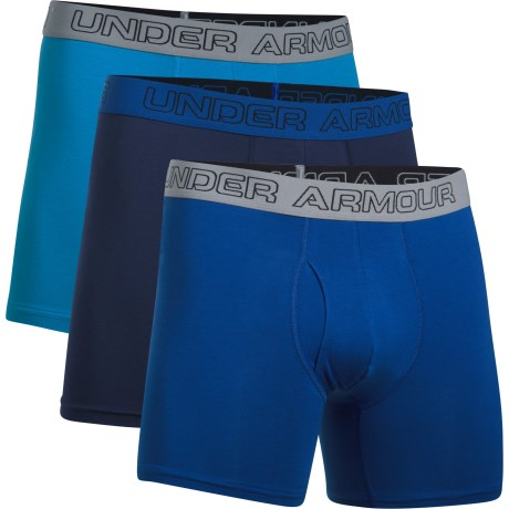 Under Armour Charged Cotton 6 inch 3-pack - Under Armour