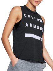 Under Armour Graphic Muscle Tank Linear Wordmark