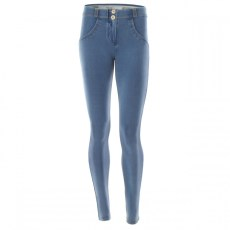 WR.UP Skinny Denim Effect Regular Waist