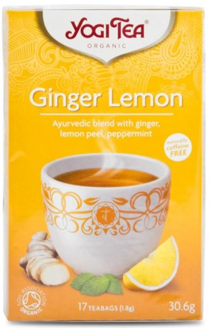 Yogi Tea Ginger Lemon,  - Yogi