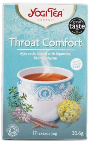 Yogi Tea Throat Comfort, Livsmedel - Yogi