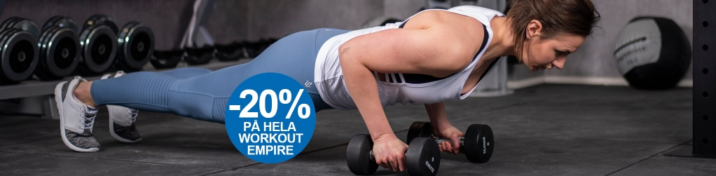 -20% på Workout Empire