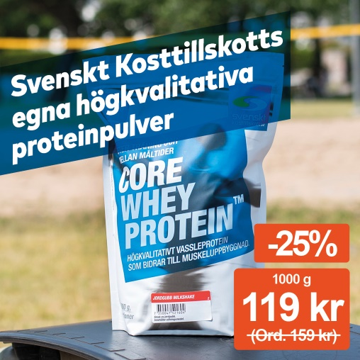 Core Whey Protein 119 kr