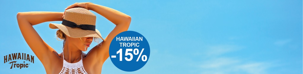 Hawaiian Tropic -15%