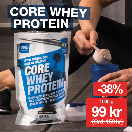 Core Whey Protein 99 kr