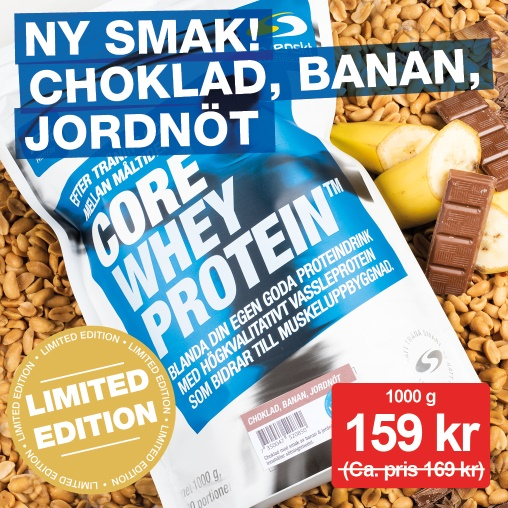 Core Whey Protein limited edition