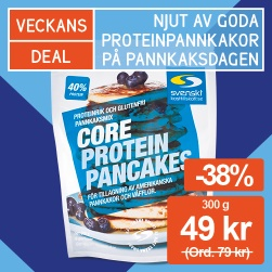 -38% på Core protein pancakes!