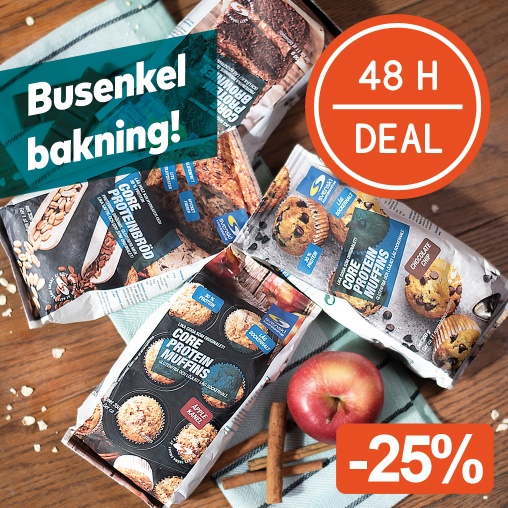 48 H DEAL! Core Baksortiment -25%