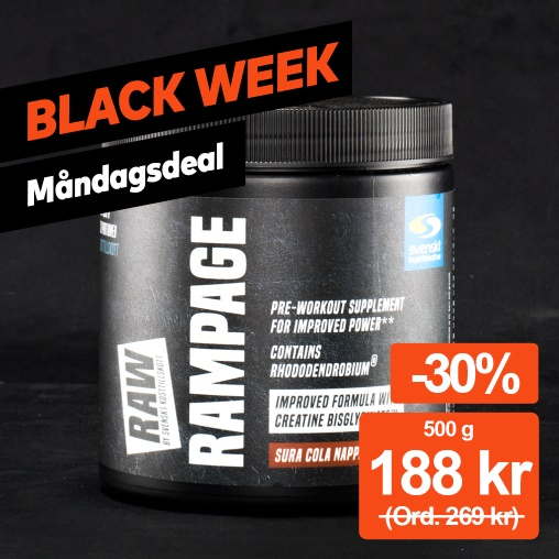 Dagens Deal! Raw Rampage -30%