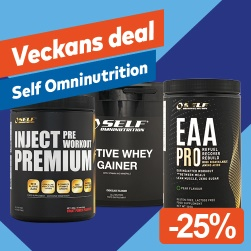 Veckans Deal! Self Omninutrition -25 %